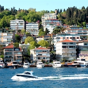 Ortaköy'de Boğaz Turu