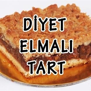 Özel Tarif : Diyet Elmalı Tart Tarifi–Evdeysem.com