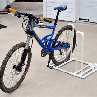 PVC Bisiklet Parkı Yapımı