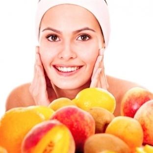 Sağlıklı Cilt İçin Beslenme Tablosu
