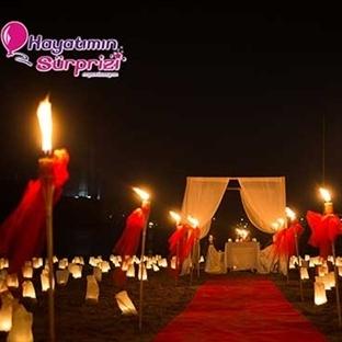 İstanbul'da Kumsalda Evlenme Teklifi Yapmak