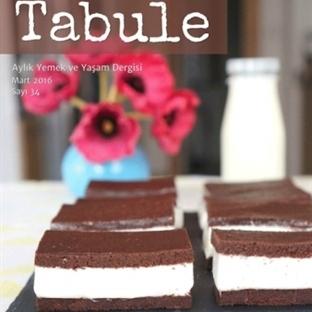Tabule Dergi Nisan 2016 Sayısı Yayında
