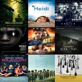 Vizyona Giren Filmler : 15 Nisan