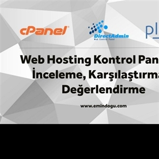 Web Hosting Kontrol Panelleri İncelemesi