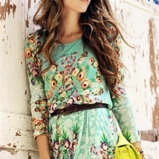 Yazlık Elbise Kombinleri