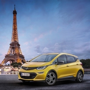 Yeni Opel Ampera-e Paris'te Sahnede