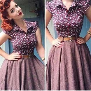 1950'lerin Moda Trendleri
