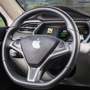 Apple Üretimi Araba : iCar