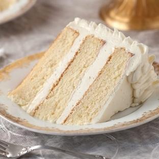 Çay Saatine bir lezzet : Islak Vanilyalı Kek