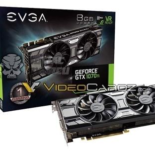 EVGA GTX 1070 Ti Ekran Kartlarını Hazırlıyor