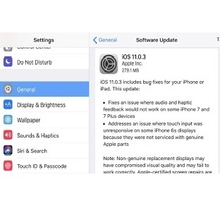 iOS 11.0.3 Güncellemesi 2 Önemli Sorunu Gideriyor