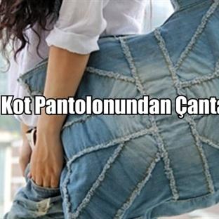 Kot Pantolonundan Çanta Yapmak