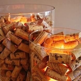 Şarap Mantarları İle Süs Yapımı