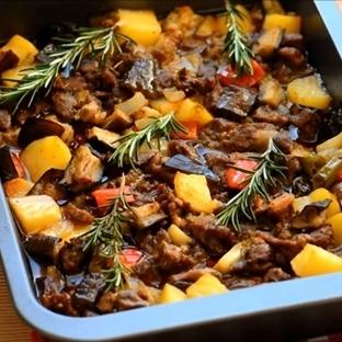 Sebzeli Fırın Kebabı Tarifi