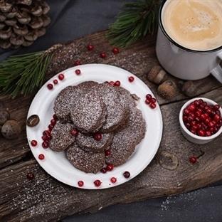 Semmelbrösel Kekse mit Schokolade