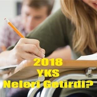 Yeni Sınav Sistemi YKS neleri getirdi?