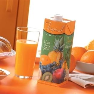 Avrupa portakal, Türkiye şeftali suyu içiyor