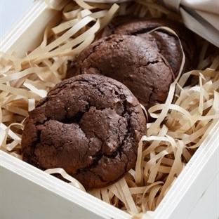 Bademli, Çikolatalı Şekersiz Cookie