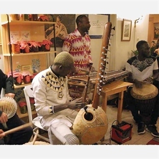Cihangir'de Afrika Müziği & Meze Gecesi