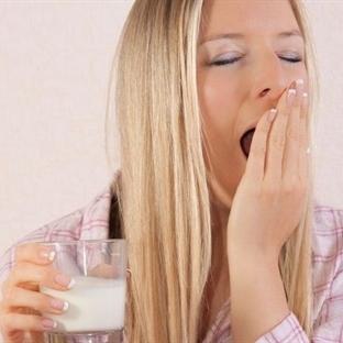 Günde iki bardak süt içerek kaliteli uyuyun