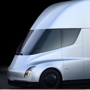 İlk Elektrikli Tır Tesla Semi Yakında Yollarda