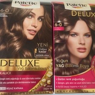 Saç Boyası Günlüğüm 3 / Palette Deluxe Koyu Kumral