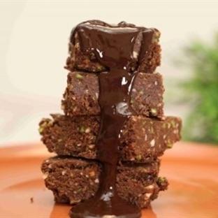Bitter Çikolatalı Fıstıklı Helva