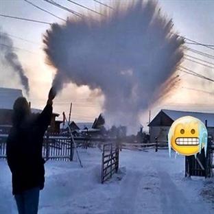 Dünyanın En Soğuk Köyü Oymyakon -71 Derece