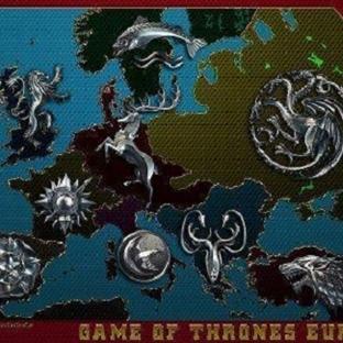 Game Of Thrones Karakterinin Temsil Ettiği Ülkeler