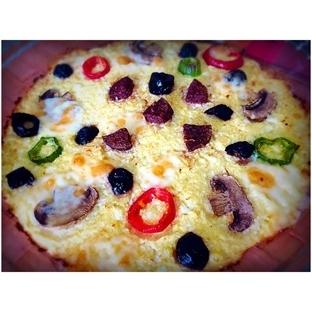 Unsuz-Mayasız Pizza: Karnabahar Pizzası