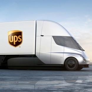 UPS 125 Adet Tesla Tır Siparişi Verdi