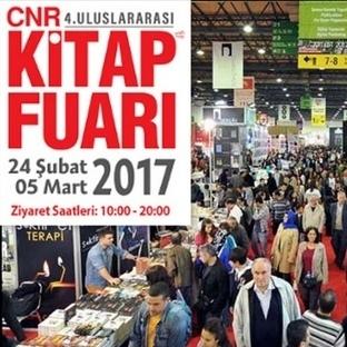 4. CNR İstanbul Uluslararası Kitap Fuarı Başlıyor