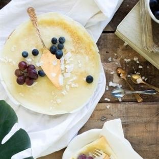 traditionelle Pfannkuchen