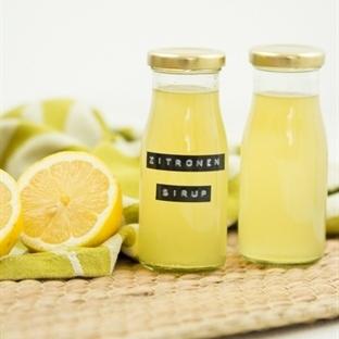 Zitronen-Sirup und eine leckere Limonade