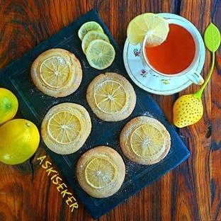 Limon Dilimli Kurabiye