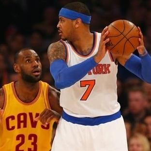 Gözler Carmelo Anthony'nin üzerinde