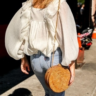 Trend: Yuvarlak çanta