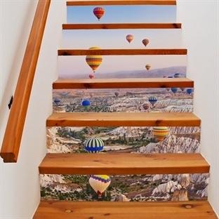 Evinizin Dekoru İçin Renkli Merdivenler