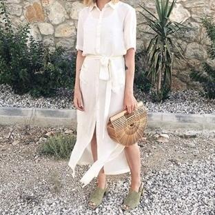 Yazın Vazgeçilmezi: Beyaz Gömlek Elbise