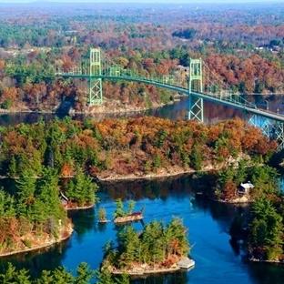 Amerika-Kanada Sınırında Bin Adalar