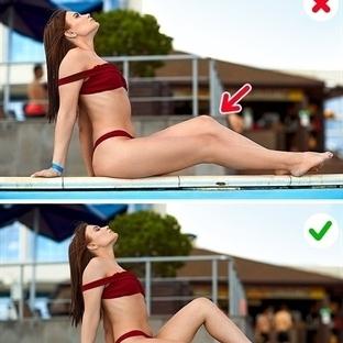 Bikiniyle plajda nasıl poz verilir
