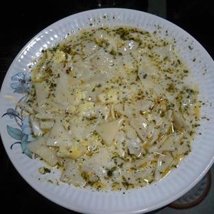 yumurtalı hamur çorbası