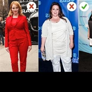 Zayıf görünmek için nasıl giyinmeli?