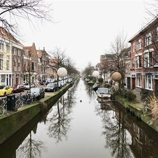 Amsterdam'dan trene atladım : Delft Gezi Notları