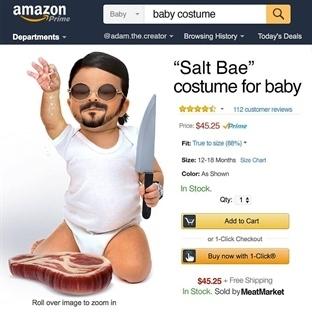 Cadılar Bayramına Özel Bebekler İçin Kostümler