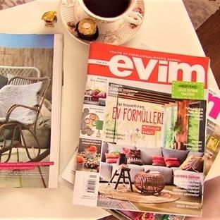 Çekiliş : Evim Dergisi 1 Yıl Abonelik