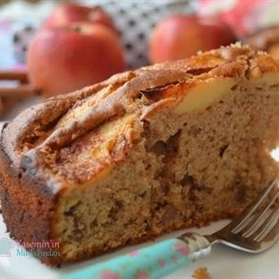 Esmer Şekerli Elmalı Kek