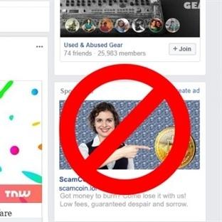 Facebook ICo Reklamlarını Yasakladı
