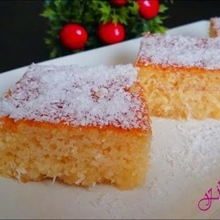 İrmik tatlısı nasıl yapılır | Kolay revani tatlısı