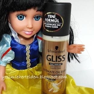 Gliss Ultimate Oil Elixir Sıvı Saç Kremi